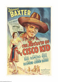 "Movie Posters:Western, The Return of Cisco the Kid (20th Century Fox, 1939). One Sheet (27"" X 41""). Warner Baxter reprises his Cisco portrayal in t..."
