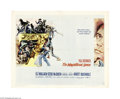 """Movie Posters:Western, The Magnificent Seven (United Artists, 1960). Half Sheet (22"""" X 28""""). John Sturges directed this superb Western adaptation o..."""