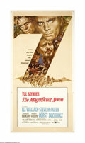 "Movie Posters:Western, The Magnificent Seven (United Artists, 1960). Three Sheet (41"" X81""). Based on Kurosawa's ""The Seven Samurai,"" what could h..."