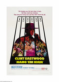 "Movie Posters:Western, Hang 'Em High (United Artists, 1968). One Sheet (27"" X 41""). After Clint Eastwood's success with the Italian-made ""Spaghetti..."