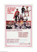 """Movie Posters:Western, The Good, The Bad and The Ugly (United Artists, 1968). One Sheet (27"""" X 41""""). Though shot as the final installment of the Se..."""