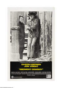 "Midnight Cowboy (United Artists, 1969). One Sheet (27"" X 41""). This was British director John Schlesinger's fi..."
