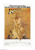 """Movie Posters:Adventure, Raiders of the Lost Ark (Paramount, 1981). Poster (40"""" X 60"""").Harrison Ford stars as Indiana Jones, the adventuresome archa..."""