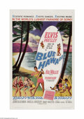 "Blue Hawaii (Paramount, 1961). One Sheet (27"" X 41""). With this film, Elvis made the leap from a musical pheno..."