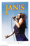 "Movie Posters:Documentary, Janis (Universal, 1975). One Sheet (27"" X 41""). This was a documentary on the too-short life of the great blues singer Janis..."