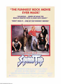 """This is Spinal Tap (Embassy Pictures, 1984). One Sheet (27"""" X 41""""). Director Rob Reiner, who was originally sc..."""