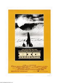 "Big Wednesday (Warner Brothers, 1978). One Sheet (27"" X 41""). John Milius (""Red Dawn"") directed this..."