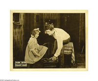 "Headin' Home (Kessell & Baumann, 1920). Lobby Card (11"" X 14""). ""The Sultan of Swat,"" George Her..."