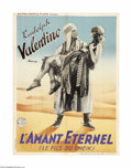 "Movie Posters:Adventure, The Son of the Sheik (United Artists, R-1930s). French Petite(23.5"" X 31.25""). This was the last film that the legendary la..."
