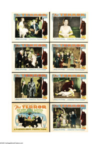 "The Terror (Warner Brothers, 1928). Lobby Card Set of 8 (11"" X 14""). This mystery/horror film was one of the f..."