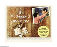 """To Kill a Mockingbird (Universal, 1963). Half Sheet (22"""" X 28""""). This is the screen adaptation of Harper Lee's..."""