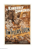 "Movie Posters:Serial, Tim Tyler's Luck (Universal, 1937). One Sheet (27"" X 41""). This was Universal's 37th talkie serial and was based on the long..."