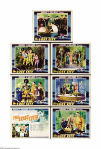"The Lost City (Super Serial Productions, 1935). Partial Lobby Card Set 7 of 8 (11"" X 14""). William ""Stage..."