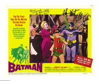 "Batman (20th Century Fox, 1966). Lobby Card Set of 8 (11"" X 14""). Almost forty years ago, Americans from all w..."