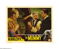 "Mummy (Realart, R- 1951). Lobby Card (11"" X 14""). This was Boris Karloff's second horror starring role after h..."