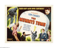 "Movie Posters:Horror, The Mummy's Tomb (Realart, R-1948). Half Sheet (22"" X 28"").Universal extended their highly successful Mummy series with thi..."
