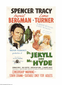 """Dr. Jekyll and Mr. Hyde (MGM, 1941). Australian One Sheet (27"""" X 40""""). Famed Director Victor Fleming (""""Go..."""