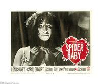 "Spider Baby (American General Pictures, Inc.,1968). Lobby Card Set of 8 (11"" X 14""). Jack Hill's delightfully..."