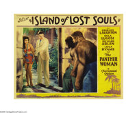 "Island of Lost Souls (Paramount, 1933). Lobby Card (11"" X 14""). Paramount's first feature length adaptation of..."