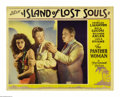 "Movie Posters:Horror, Island of Lost Souls (Paramount, 1933). Lobby Card (11"" X 14"").Charles Laughton's disturbing role as the mad and powerful D..."
