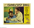 "Movie Posters:Horror, Island of Lost Souls (Paramount, 1933). Lobby Card (11"" X 14""). H.G. Wells' famous story of the mysterious scientist who pe..."