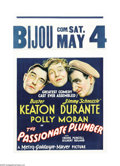 """Movie Posters:Comedy, The Passionate Plumber (MGM, 1932). One Sheet (27"""" X 41""""). DitzyParisian socialite Patricia Alden hires plumber Elmer Tuttl..."""