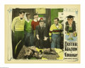 "Movie Posters:Comedy, College (United Artists, 1927). Lobby Card (11"" X 14""). This Keatontreasure was released the same year as his comedy epic,""..."