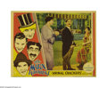 "Movie Posters:Comedy, Animal Crackers (Paramount, 1930). Lobby Card (11"" X 14""). Thisfilm was the second of many classic Marx Brothers films (the..."