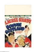 "Movie Posters:Comedy, Bonnie Scotland (MGM, 1935). Window Card (14"" X 22""). Hal Roachstars his most famous duo in what appears to be a spoof of t..."