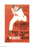 "Movie Posters:Comedy, The Man in the White Suit (Ealing, 1951). Australian One Sheet (27""X 40""). In post-WWII Britain, Ealing Studios producing a..."