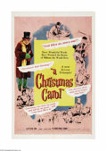"Movie Posters:Drama, A Christmas Carol (United Artists, 1951). One Sheet (27"" X 41"").Alastair Sim gives a masterful performance in this Charles ..."
