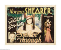 """Movie Posters:Romance, Smilin' Through (MGM, 1932). Half Sheet (22"""" X 28""""). Norma Shearergives a steller performance in this romantic melodrama as..."""