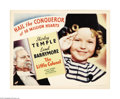 "Movie Posters:Musical, The Little Colonel (Fox, 1935). Half Sheet (22"" X 28""). This was Shirley Temple's first costume drama and one of her best fi..."