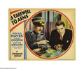 """Movie Posters:Drama, A Farewell To Arms (Paramount, 1932). Lobby Card (11"""" X 14"""").Hemingway's classic novel of World War I was brought to the sc..."""