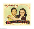 """Movie Posters:Comedy, Andy Hardy Lot (MGM, 1938). Lobby Cards (2) (11"""" X 14""""). The Andy Hardy series that ran during the '30s and '40s were wildly... (2 items)"""