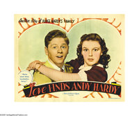 "Andy Hardy Lot (MGM, 1938). Lobby Cards (2) (11"" X 14""). The Andy Hardy series that ran during the '30s and '4..."