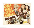 "Movie Posters:Drama, Boom Town (MGM, 1940). Half Sheet (22"" X 28""). This is the sort of MGM film that made the studio so famous in its heyday. Wi..."