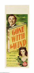 "Movie Posters:Academy Award Winner, Gone With the Wind (MGM, 1939). Australian Daybill (15"" X 40""). Thewinner of eleven Academy Awards and considered one of th..."