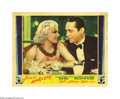 """Movie Posters:Comedy, The Girl From Missouri (MGM, 1934). Lobby Card (11"""" X 14""""). Theincomparable Jean Harlow plays chorus girl Eadie Chapman. Ea..."""