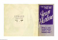 Jean Harlow Herald Lot (MGM, 1933). Heralds (6). Jean Harlow was, by history's account, the most popular blonde bombshel...
