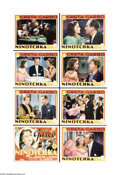 """Movie Posters:Comedy, Ninotchka (MGM, 1939). Lobby Card Set of 8 (11"""" X 14""""). ErnstLubitsch directed this engaging comedy that stars Greta Garbo ...(8 items)"""