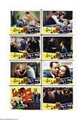 """Movie Posters:Comedy, Mr. & Mrs. Smith (RKO, 1941). Lobby Card Set of 8 (11"""" X 14"""").Alfred Hitchcock directed this screwball comedy only after fr... (8items)"""