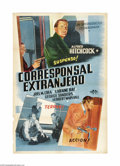 """Movie Posters:Hitchcock, Foreign Correspondent (United Artists, 1940). Argentinian One Sheet(29"""" X 43""""). Alfred Hitchcock directed this wartime thri..."""