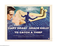 """To Catch a Thief (Paramount, 1955). Half Sheet (22"""" X 28"""") Style A. Director Alfred Hitchcock paired the ever..."""