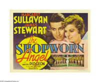 """The Shopworn Angel (MGM, 1938). Title Lobby Card (11"""" X 14""""). Jimmy Stewart stars as a naive young Texas soldi..."""