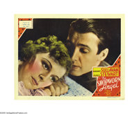 "The Shopworn Angel (MGM, 1938). Lobby Cards (2) (11"" X 14""). James Stewart stars as a WWI basic trainee who ma..."