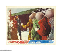 "Flight to Mars (Monogram, 1951). Lobby Cards (4) (11"" X 14""). This was the first American film of the post-war..."
