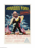 "Movie Posters:Science Fiction, Forbidden Planet (Loews-MGM, 1956). Australian One Sheet (27"" X40""). This film was MGM's first big-budget science fiction p..."