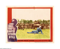 """The Day the Earth Stood Still (20th Century Fox, 1951). Lobby Cards (3) (11"""" X 14""""). Robert Wise directed this..."""