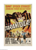 "Movie Posters:Science Fiction, Tarantula (Universal, 1955). One Sheet (27"" X 41""). Jack Arnold,the talented director of some of the '50s best science fict..."